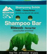 Mountain Sky Wildwoods Shampoo Bar