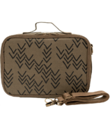 SoYoung Olive Paper Chevron Bento Lunch Box