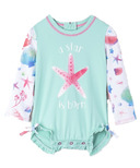 Hatley Baby Rashguard Swimsuit Ocean Treasures