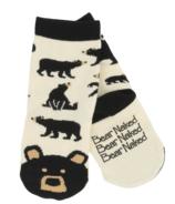 Chaussettes pour enfants Hatley Black Bear Animal