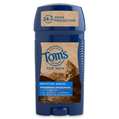 Tom\'s Of Maine Long-Lasting Mountain Spring Men\'s Deodorant