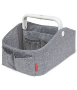 Skip Hop Nursery Style Light-Up Diaper Caddy Heather Grey