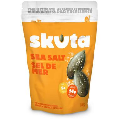 Skuta Dry Roasted Pumpkin Seeds Sea Salt