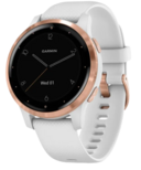 Garmin Vivoactive 4S White with Rose Gold