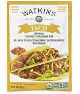 Watkins Organic Taco Gourmet Seasoning Mix