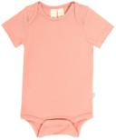 Kyte BABY Short Sleeve Bodysuit in Terracotta