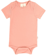 Kyte BABY Short Sleeve Bodysuit in Terracotta