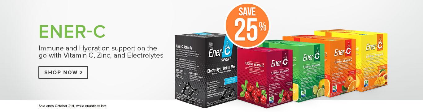 Save 25% on Ener-C