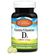 Carlson Vitamin D3 1000 IU