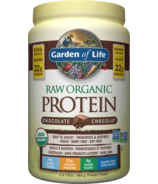 Protéine biologique naturelle Garden of Life, chocolat