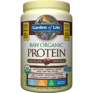 Garden of Life Raw Organic Protein Chocolate