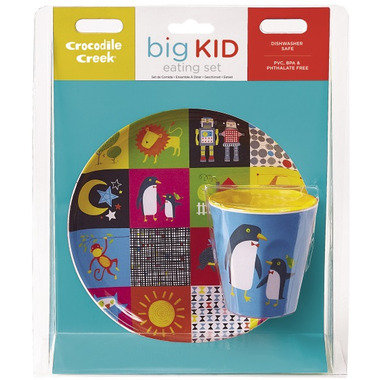 Crocodile Creek Eating Set Kids World