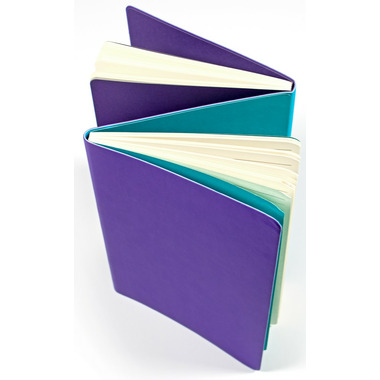 OOLY The FlipSide Double Sided Notebook Purple