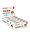 Simply Protein Bar Peanut Butter Chocolate Case