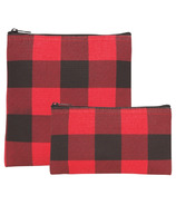Now Designs Snack Bag Set Buffalo Check