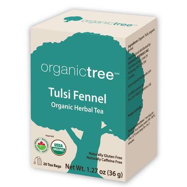 OrganicTree Organic Tulsi Fennel Tea