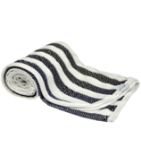 House of Jude Hooded Baby Turkish Towel Ebony