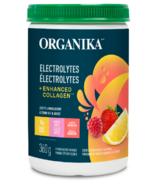 Organika Electrolytes + Enhanced Collagen Lemon Berry