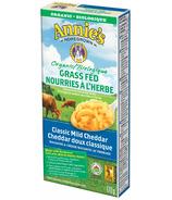 Annie's Homegrown macaroni au cheddar doux biologique nourri à l'herbe