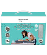 Baby Works Deluxe Foam Changing Pad Grey