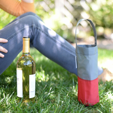 flip & tumble Wine Bag Grey