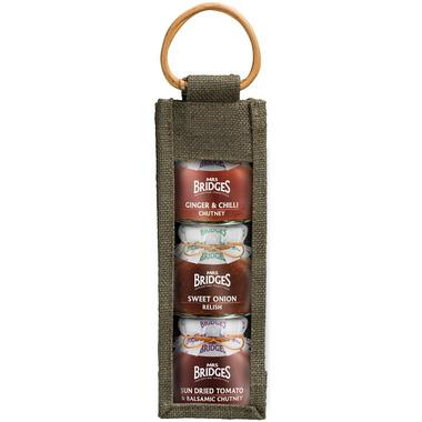 Mrs. Bridges Triple Jar Condiment Collection