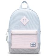 Herschel Supply Heritage Backpack Youth Pastel Blue & Light Grey