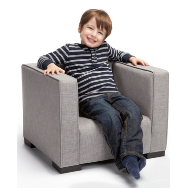 Monte Design Opie Kids Chair Pebble Grey