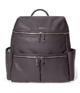Skip Hop Flatiron Diaper Backpack Grey Raisin