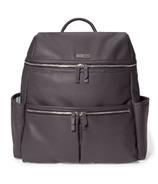 Skip Hop Flatiron Diaper Backpack Grey Raisin
