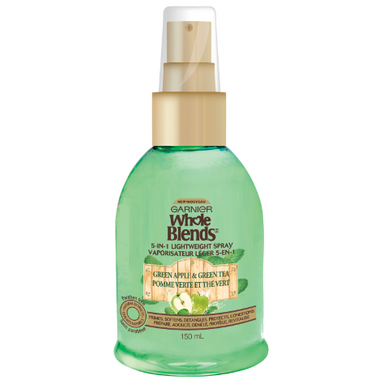 Garnier Whole Blends Green Apple Green Tea 5-in-1 Lightweight Spray