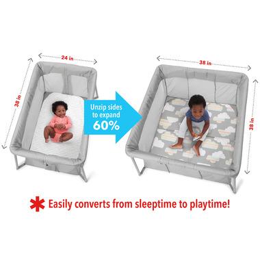 Skip Hop Play To Night Expanding Playard & Travel Crib
