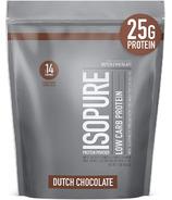 IsoPure Powder 100% Whey Protein Isolate Dutch Chocolate