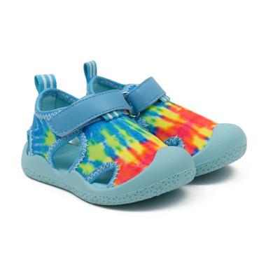 Robeez Water Shoes Remi Tie Dye Light Blue