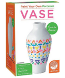 Paint Your Own Porcelain Vase