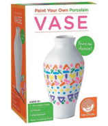 Paint Your Own Porcelain Vase