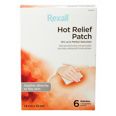 Buy Rexall Pain Relief Hot Patch from Canada at Well.ca - Free Shipping