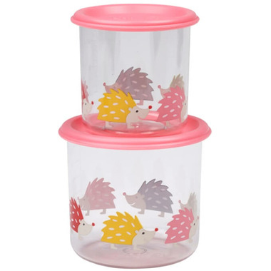 Sugarbooger Good Lunch Large Snack Containers Hedgehog