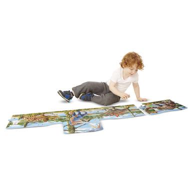 Melissa & Doug Dinosaurs Linking Floor Puzzle