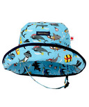 Snug As A Bug Sharks Ahoy Adjustable Sun Hat