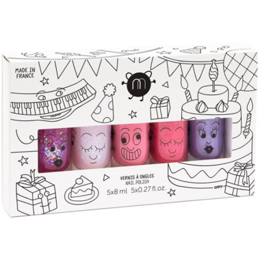 nailmatic 5 Nail Polish Set Party