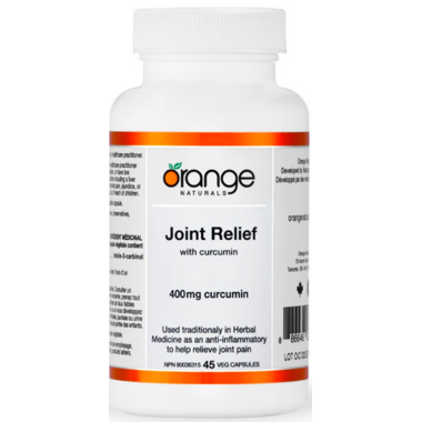 Orange Naturals Joint Relief with Curcumin