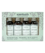 Scentuals Essential Travel Kit Rosemary Mint