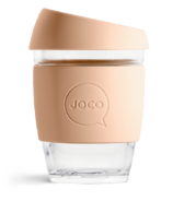 JOCO Glass Reusable Cup Amber Light