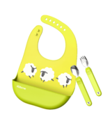 Kidsme Deluxe Dining Set Lime