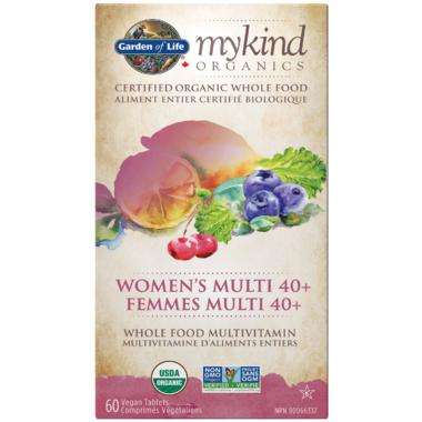 Garden of Life MyKind Organics Women\'s Multi 40+