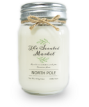 The Scented Market Soy Wax Candle North Pole