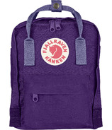 Fjallraven Kanken Mini Backpack Purple & Violet