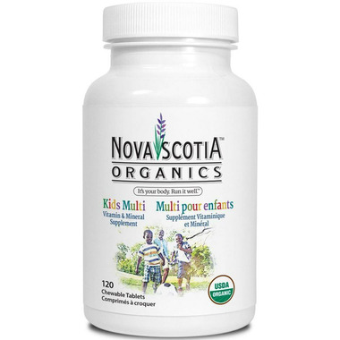 Nova Scotia Organics Kids Multi Vitamin & Mineral Supplement