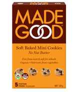MadeGood No Nut Butter Soft Baked Mini Cookies